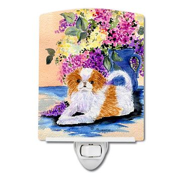 Japanese Chin Ceramic Night Light SS8300CNL
