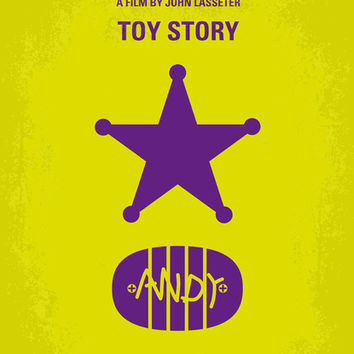 No190 My Toy Story minimal movie poster Art Print by Chungkong