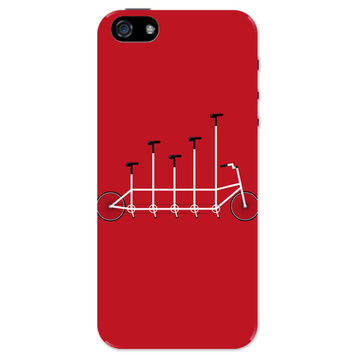 Cycle Graph Art Illustration iPhone 5 / 5S Case