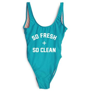 """SO FRESH + SO CLEAN"" One Piece Swimsuit"