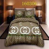 Gucci 4pc Bedding Set-QB