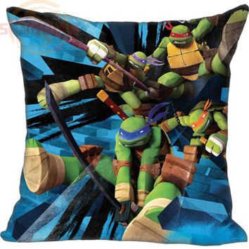 Teenage Mutant Ninja Turtles Pillowcase Wedding Decorative Pillow Case Customize Gift For Pillow Cover 20x20,35X35cm One sides