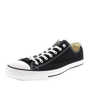 LMFUG7 Converse Unisex Chuck Taylor All Star Low Top Black Sneakers - 12 D(M) US