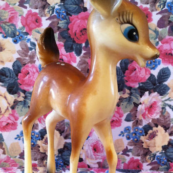 Vintage Kitsch Deer - So Cute
