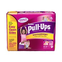 Pull-Ups Learning Design Training Pants, Size 4T-5T, Girl, 42 Count (Pack of 4)