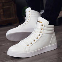 High-Vamp European Style Fashio Hightops