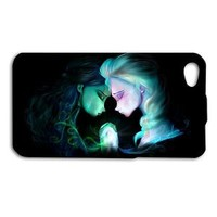 Disney Frozen Phone Case Cute Elsa Anna Rubber Cover iPhone 4 4s 5 5s 5c 6 6s +
