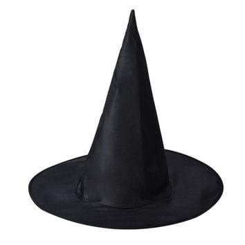 DKF4S halloween costumes Witch Hat Caps Halloween Party Hat Halloween Masquerade For Adult Womens Mensparty decoration supplies HYM