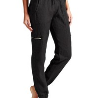 Athleta Womens Linen Jogger Pant