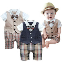 Baby Suit Newborn Romper Boys Outfit Kids Clothes Boy Clothing Kid Party Outfits-@n5