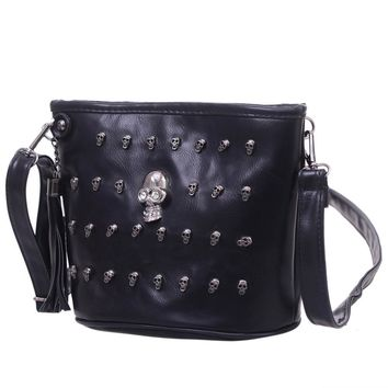Skull handbags  Messenger Bags