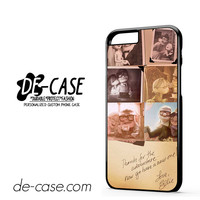 Carl And Ellie Pixar Up Quotes DEAL-2406 Apple Phonecase Cover For Iphone 6 / 6S