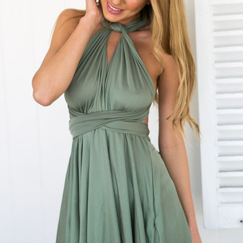 Heartache Dress (Green)
