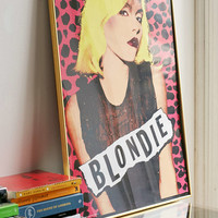 Blondie Pink Leopard Poster - Urban Outfitters