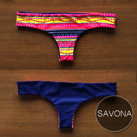 SAVONA Bottom - Handmade Reversible Brazilian-Cut Bottom