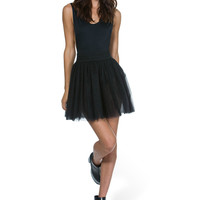 En Pointe Black Tulle Skirt