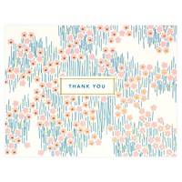 Bitsy Folded Thank You Card