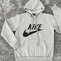 "Women Fashion ""NIKE"" Hooded Top Sweatshirt Sweater Pullover"