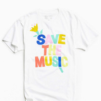 UO + Save The Music Tee - Urban Outfitters
