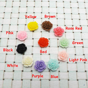 25%OFF 11 Colors Pure Fresh Colorful Small Rose Flower Series Home Button Sticker for iPhone 3,4/4s,5,ipad 2,3,4,iPod Touch 2,3,4,5