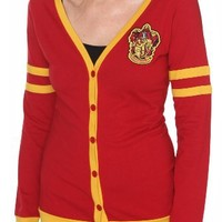 Harry Potter Gryffindor Varsity Girls Cardigan