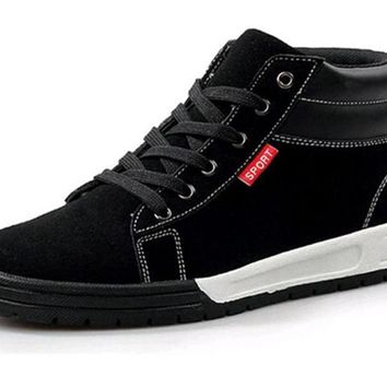 Causal Ankle Men Shoes