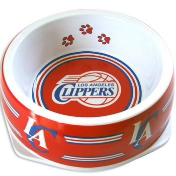 Los Angeles Clippers Slam Dunk Small Pet Bowl
