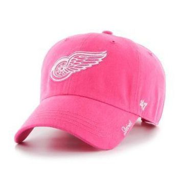 ONETOW NHL Detroit Red Wings Magenta Miata Clean Up Adjustable Hat