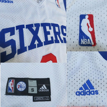 Allen Iverson 3 Philadelphia Sixers 76ers Super Rare New Throwback Iverson NBA Jersey Basketball Jersey All Stitched and Sewn Any Size S-XXL
