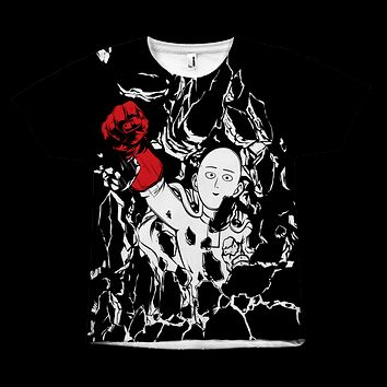 One Punch Man - Saitama - All Over Print T Shirt - TL00925AO