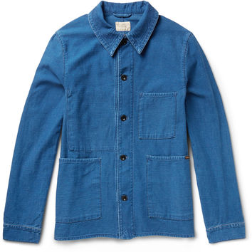 Nudie Jeans - Julius Organic Denim Overshirt | MR PORTER