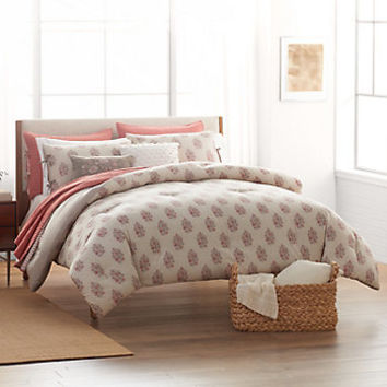 SONOMA Goods for Life™ Jasmine Woodblock Comforter Collection