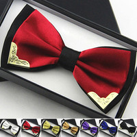 High-grade Double Layer Business Dress Bow Ties