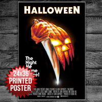 Halloween Horror Movie Poster