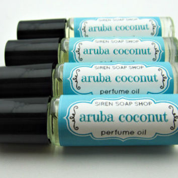 Aruba Coconut Perfume Oil, Perfume, Coconut, Pineapple
