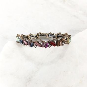 Utopia Crystal Stretch Bracelet