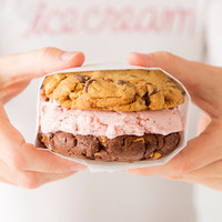 Cookie/Brownie Sandwich - Ice Cream Favorites - Sprinkles Ice Cream