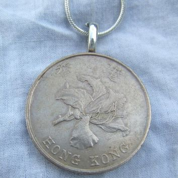 Lucky Coin Necklace HONG KONG