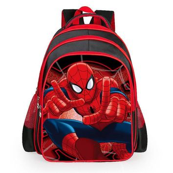 3D Printing Kids Bags Children Backpack Spiderman Boy Schoolbag Children Quality School Student Backpack For Kids