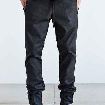 Hudson Blackout Coated Jogger Pant- Charcoal