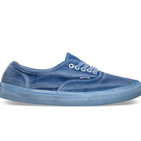 Vans California Authentic CA Over Washed Dress Blue