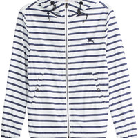 Burberry Brit - Striped Rain Coat