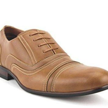 Ferro Aldo Men's 19391L Round Cap Toe Lace Up Oxfords Dress Shoes
