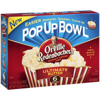 Walmart: Orville Redenbacher's Ultimate Butter Microwave Popcorn, 6ct