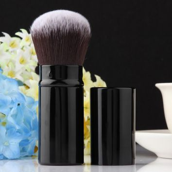 Pro Retractable Makeup Blush Brush Powder Cosmetic Adjustable Face Powder Brush Kabuki Brush TOP Quality