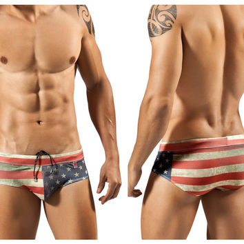 Clever Flag Swimsuit Brief