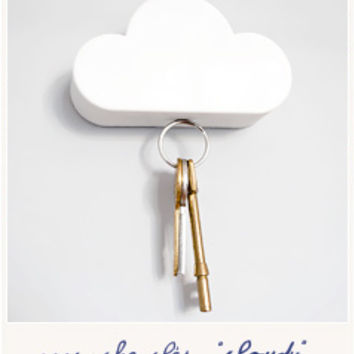 Cloudy key holder by Suck UK - Bird on the wire