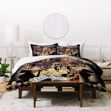 Gina Rivas Design New Orleans Duvet Cover
