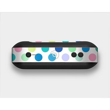 The Fun Colored Vector Polka Dots Skin Set for the Beats Pill Plus