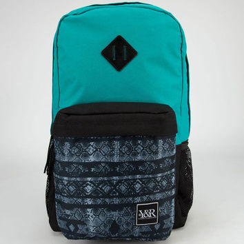 Young & Reckless Ranger Backpack Turquoise/Blue One Size For Men 23885629501